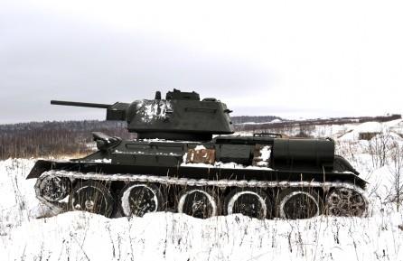 Спасение Москвы. Т- 34 — 76.