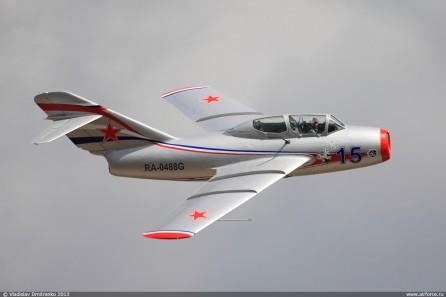 Полет на МиГ-15 УТИ