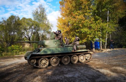 «Танк Т-34-76. Начало»