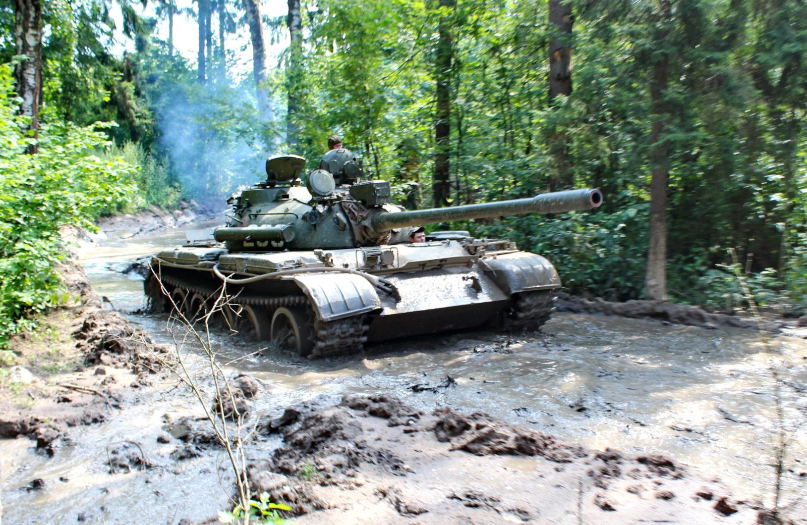 Танки холодной войны Т-55  и Т-62